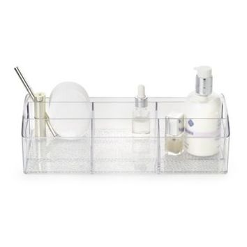 Home Dressing Table Makeup Organiser Tray in jewellery storage at Lakeland