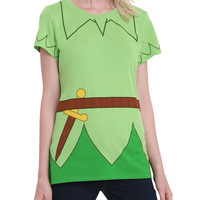 Disney Peter Pan Girls Costume T-Shirt