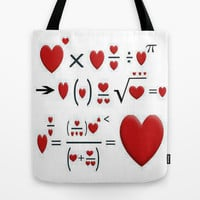 FORMULA OF LOVE Tote Bag by Acus