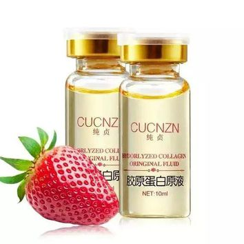 Hyaluronic Acid Anti-Wrinkle Anti-Aging Collagen concentrate ageless product  Skin Whitening Essence 10ml Free Shipping