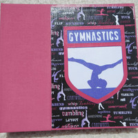 6x6 Gymnastics Scrapbook Photo Album