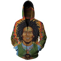 Bob Marley Roots – Zip Up