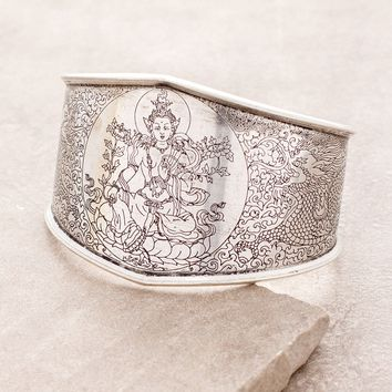 Green Tara Dragon Bangle