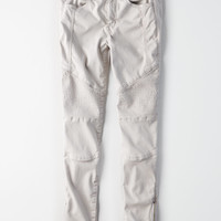 AE Denim X High-Waisted Jegging, Light Gray