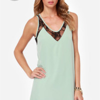 LULUS Exclusive Leaps and Bounds Mint Green Dress