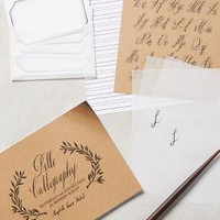 Maybelle Imase-Stukuls Belle Calligraphy Starter Kit in Black Size: One Size Books