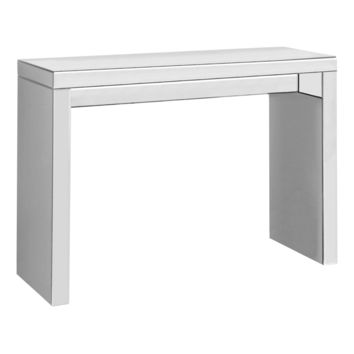 "Accent Table - 42""L / Mirror Hall Console"
