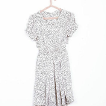 Heart Print Dress (Reformed)