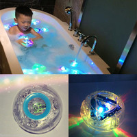 Colorful Bathroom LED Light Toys Kids Funny Bathing Toys Waterproof in Tub Kids Toys Gift Bath Toy