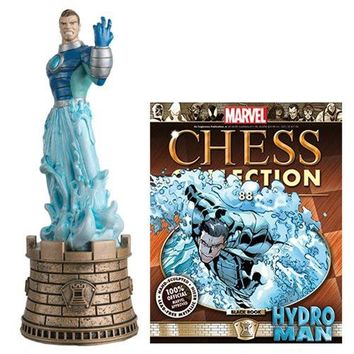 Marvel Amazing Spider-Man Hydroman Black Rook Chess Piece with Magazine #88