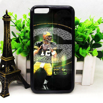 GREEN BAY PACKERS AARON RODGERS IPHONE 6 | 6 PLUS | 6S | 6S PLUS CASES