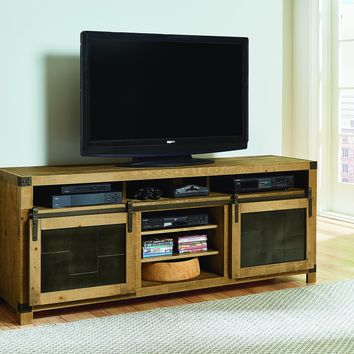 Mojo Rustic 74 Inch Console Driftwood