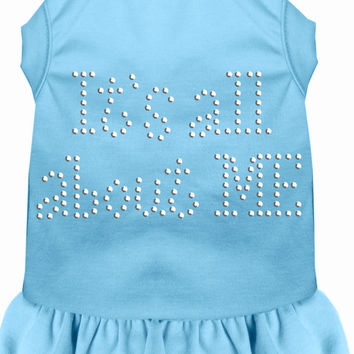 Rhinestone All About me Dress Baby Blue 4X (22)