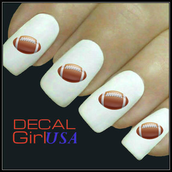 Football Nail Art Decal 32 Water Slide Nail Decals