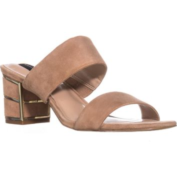 STEVEN Steve Madden Siggy Dress Sandals, Sand Suede, 8.5 US