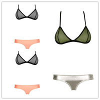Ladies Stylish Bikini Spring Summer Swimsuits Push Up Like Swimwear Designer Bathing Suit Beach Wear = 4641945284