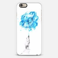 Howling Wolf iPhone 6 case by Moanart | Casetify