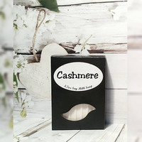 Cashmere Soap - Bath Soap - Bar Soap - Natural Soap - Body Soap - Vegan Soap - Skin Care - Homemade Soap - Milk Soap