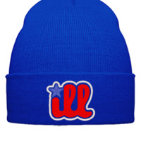 ill design Bucket Hat - Beanie Cuffed Knit Cap