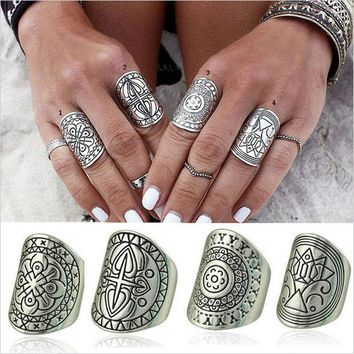 ONETOW With Gift Box Gift Shiny Jewelry New Arrival Stylish Vintage Totem Bohemia Ring [9659225290]