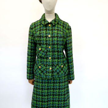 VINTAGE 1950s SKIRT SUIT HARRODS 14
