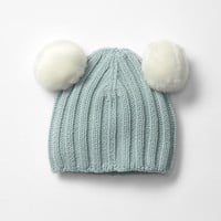 Gap Ribbed Bear Pom Pom Beanie