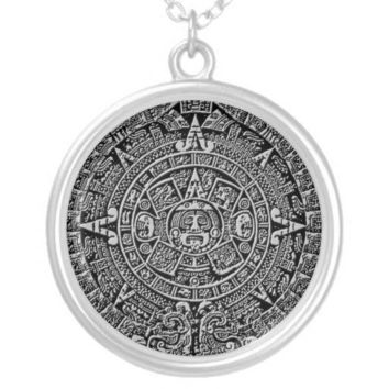 Mayan Calendar Necklaces from Zazzle.com