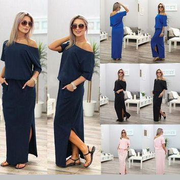 Women Casual Loose Long Dress