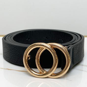 Stuck on You Waist Belt-Black