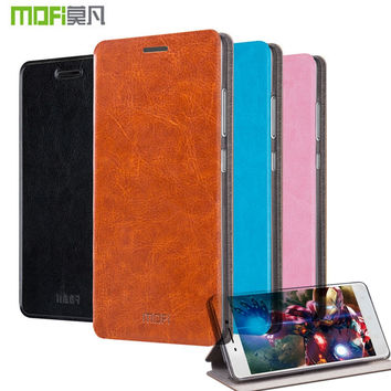 Original MOFI Flip Cover for Lenovo Vibe P1M Case PU Leather Protective Case P1MA40 5.0 Coque With Stand Function Free Touch Pen