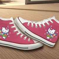 DCCK8NT hello kitty converse shoes