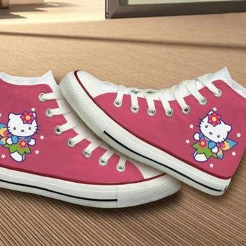 DCCK1IN hello kitty converse shoes