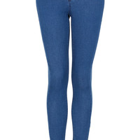 MOTO Blue Leigh Jeans - Urban Education - Clothing - Topshop USA