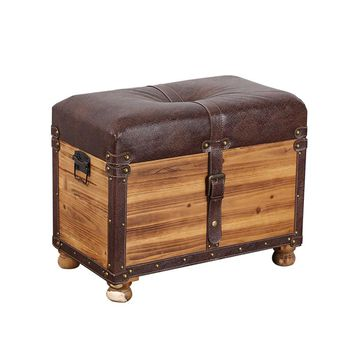 American Style Shoes Stool Home Entrance Porch Retro Storage Bench Stool Creative Nordic Clothing Store Decoration Home Decor