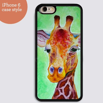 iphone 6 cover,watercolor Giraffe iphone 6 plus,Feather IPhone 4,4s case,color IPhone 5s,vivid IPhone 5c,IPhone 5 case Waterproof 303