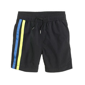 crewcuts Boys Swim Trunk In Double Stripe