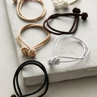 Knotted Hair Ties by Anthropologie in Gold Size: One Size Hair