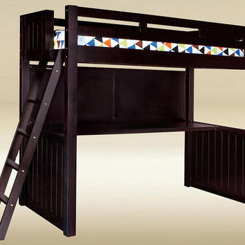 Foster Twin Size Study Loft Bed