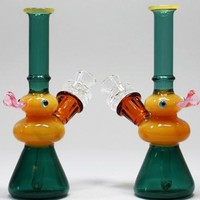 "6.75"" Duck Water Pipe with 14mm Heavy Bowl"