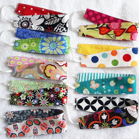 Set of 6 Child Reversible Headbands - CHOOSE YOUR FABRICS - Bunch Pack Set Birthday Party Favor Gift Girly Cotton Hair Pretties - 6 Bandeaux