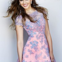 Sherri Hill Short Homecoming Dress 11063 at Peaches Boutique