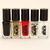The New Black Rock 'n' Roll Royalty Nail Polish Set
