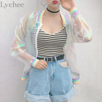 Rainbow Me Bomber Jacket