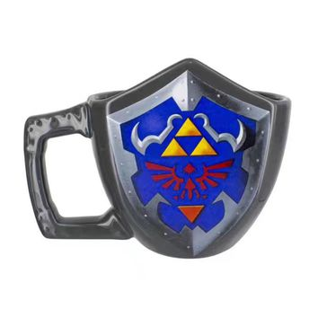 The Legend of Zelda - Hylian Shield Moulded Ceramic Mug