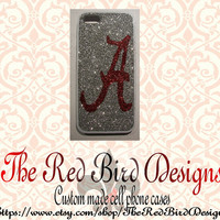 Glitter Sparkly Alabama iPhone 4/4S OR 5 Cell Phone Case