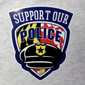 Support Our Maryland Police / Sticker
