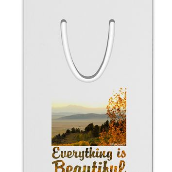 Everything is Beautiful - Sunrise Aluminum Paper Clip Bookmark by TooLoud