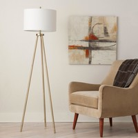 Tripod Floor Lamp - Antique Brass - Project 62™