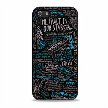 The Fault in Our Stars movies Iphone 5S Cases