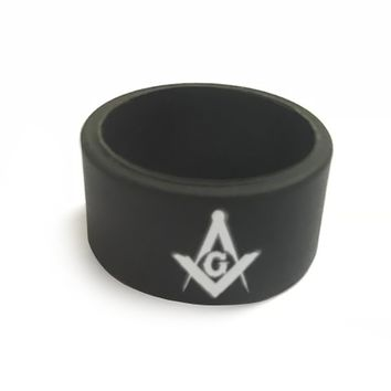 2 Silicone Masonic Rubber Rings